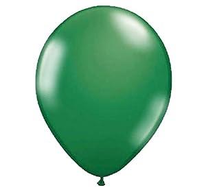 Folat 19134 - Globos metálicos (30 cm, 50 unidades), color verde oscuro