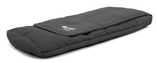 DURAGADGET SCHWARZE Polyester-Hülle mit Klettverschluss für CATERPILLAR Cat B100 / B15 / B15Q / B15 AWS / B25 Outdoor Handys