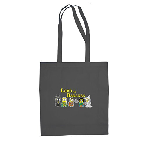 Planet Nerd Lord of Bananas - Stofftasche/Beutel, Farbe: grau