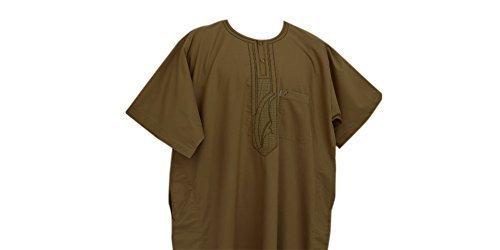 Desert Dress - Boubou Marocain Arabe Homme DishDash Jubba Habit de Prière Desert Dress