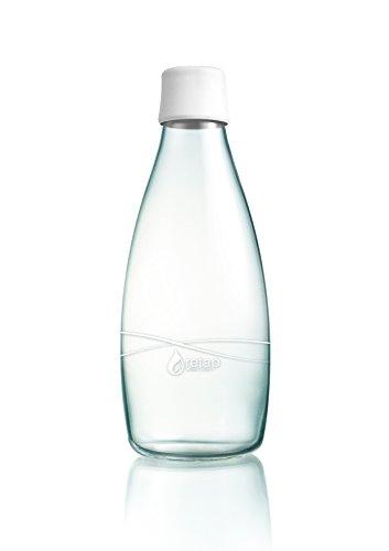 aps-retap-08-litro-botella-de-agua-de-vidrio-borosilicato-grande-blanco-mate