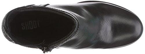 Shoot SH215203 Damen Kurzschaft Stiefel Schwarz (Black)