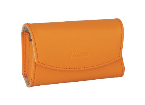 Nikon CS-S19 Ledertasche für Nikon Coolpix S3000/S4000 orange