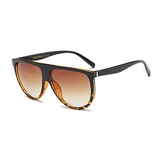 Sonnenbrille, Amcool Unisex Vintage Shaded Objektiv Brille Mode Aviator Spiegel (B)