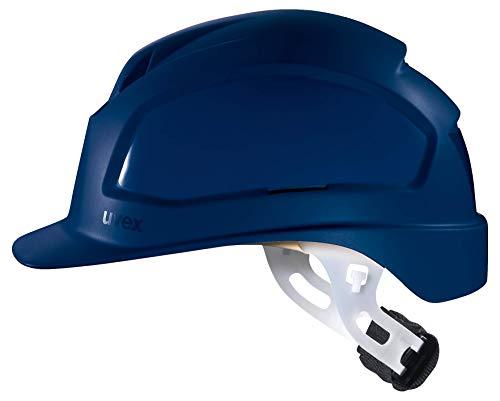 Uvex Pheos E-WR Schutzhelm - Unbelüfteter Arbeitshelm für Elektriker - Blau Blau