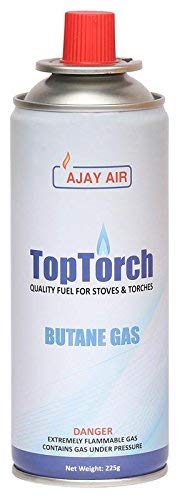 Top Torch Portflame Butane Gas Canister