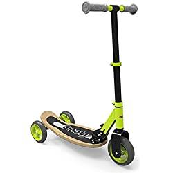 Smoby - 750174 - Patinette Bois Pliable 3 Roues