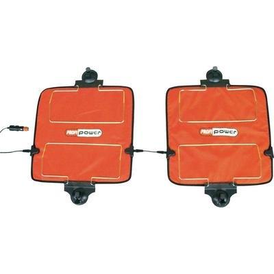 12V Scheibenheizung Scheibenentfroster Heizpad 40x40cm, 2-teilig
