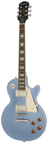 Epiphone Les Paul Standard E-Gitarre (Pelham Blue Lack, Mahagoni Korpus, 24.75 Mensur, Palisander Griffbrett)