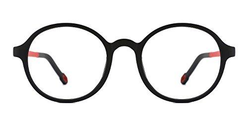 (TIJN Rund Brille Ohne Sehstärke Brillengestel Mädchen Jungen)