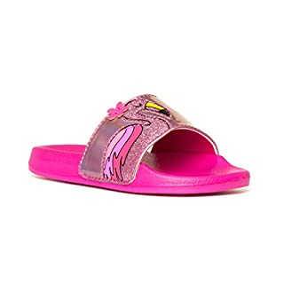 G2S Girls Pink Flamingo Slider - Size 1 UK - Pink
