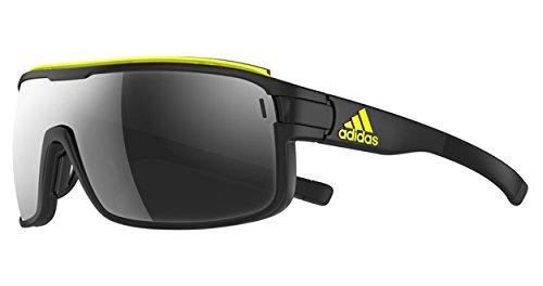 Adidas - zonyk pro l ad01, sport, acetato, uomo, matte coal/chrome mirror(6054 bs)