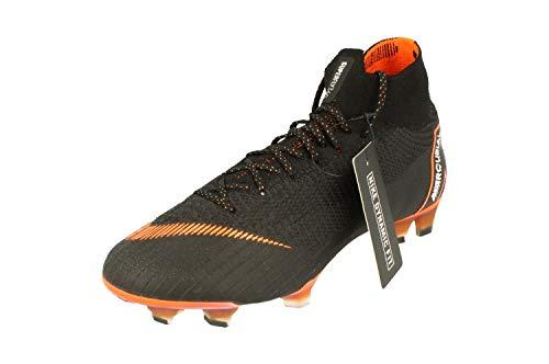promo code 9b47b 610b3 nike superfly 6 elite fg, scarpe da fitness unisex-adulto, multicolore  (black