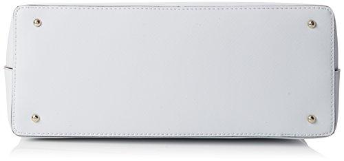 Guess Kizzy, Borsa a Spalla Donna, 14.5 x 29 x 40 cm (W x H x L) Bianco