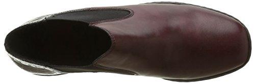 Rieker Damen L6090 Chelsea Boots Rot (Medoc/Bordeaux / 35)