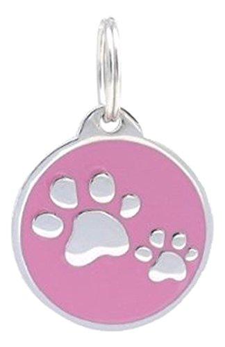 PetTouchID Smart Pet ID Tag, QR Code, NFC, Scan GPS Location (Paws) (Black w/Bones) 1