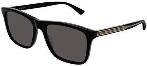 Sonnenbrillen Gucci GG0381S BLACK/GREY Herrenbrillen