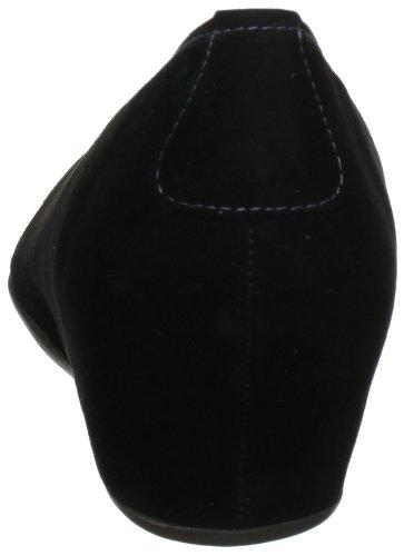 Hassia Nizza, Weite H 5-302102-18000 Damen Ballerinas Schwarz (schwarz 0100)