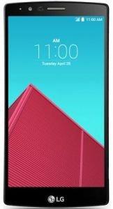 LG G4 Dual SIM H818P 32GB QHD Display Unlocked Smartphone Leather Red Red Unlocked Smartphone