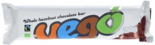 Vego Bio Schokoladentafel mit ganzen Nüssen, vegan, glutenfrei