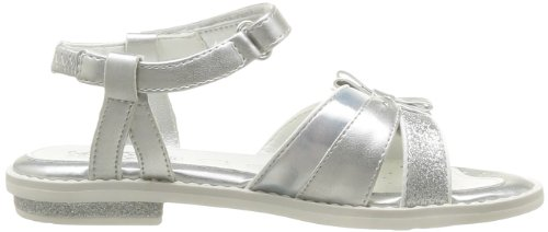 Geox J S.Giglio C, Sandales fille Argent (Silver)