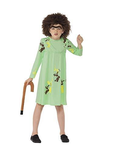 Smiffys Frau Twit-Roald Dahl-Kinder-Kostüm-Medium-143cm-Alter 7-9 (Alte Frau Kostüme Ideen)