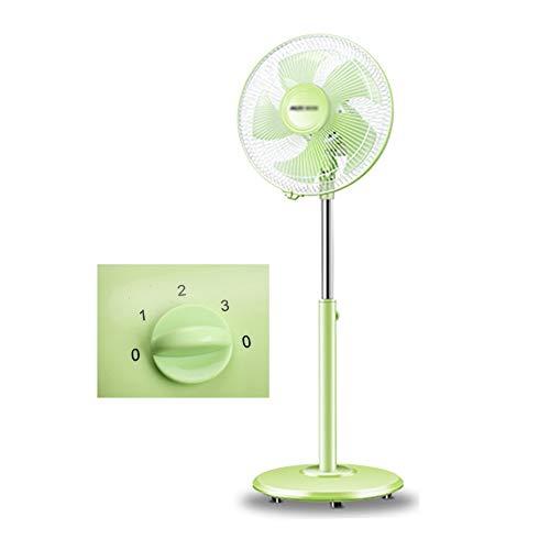 HH- Ventilator Standventilator Fan Ventilatoren 12 Zoll Grüner Standventilator Leiser Betrieb,Höhenverstellbarer 2-in-1-Tisch- / Standventilator Für Schlafzimmer
