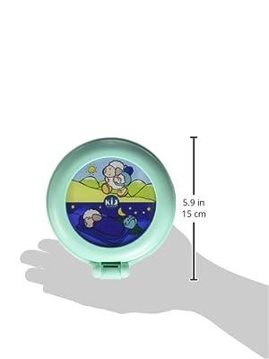 Claessens' Kid -KS0029- Reveil Globetrotter Vert