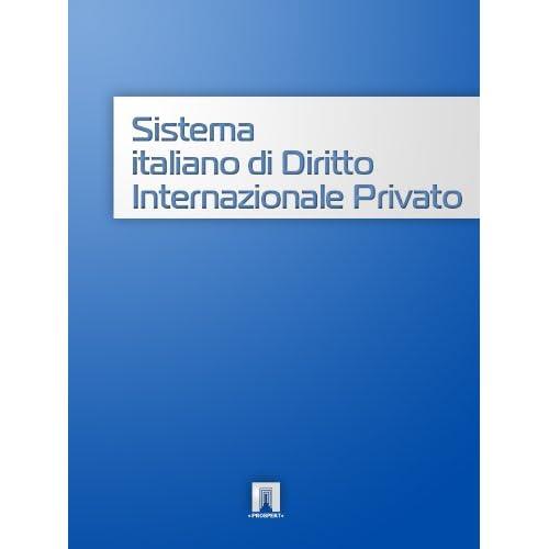 Sistema Italiano Di Diritto Internazionale Privato (Italia)