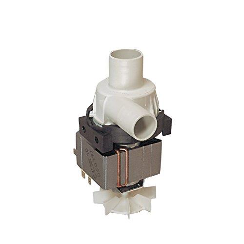 Ablaufpumpe Laugenpumpe Spaltmotorpumpe Pumpe Waschmaschine wie Bauknecht 481236018012 Zanker AEG Rondo Interfunk Quelle für Lavamat Nova Perfect Deluxe WA700 Rondomat Royal