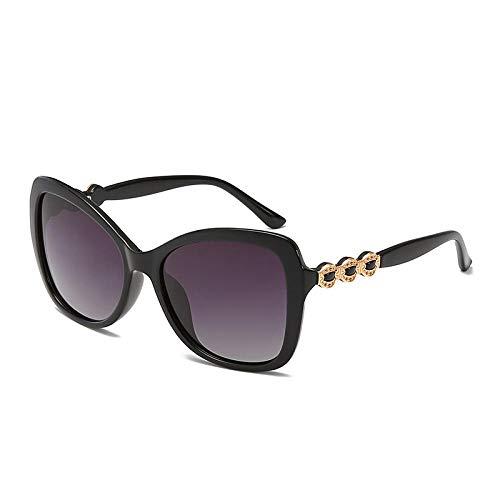PROMISE-YZ Sonnenbrille Polarisierte sonnenbrille 100% UV 400-Schutz Fashion Trend Strand Sonnenbrille Reisen fahren Damen Farbe großen Rahmen Brille