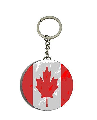 Gifts & Gadgets Co. Kanada-Flagge, Schlüsselanhänger mit Flaschenöffner, 58 mm