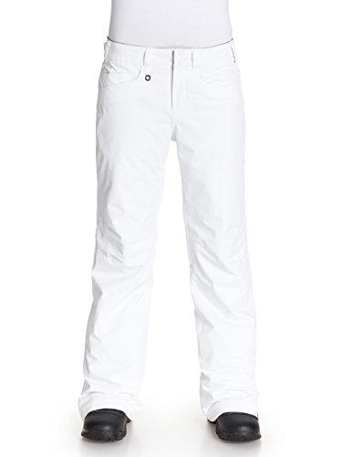 Roxy Damen Snow Pant Backyard, Bright White, L, ERJTP03014-WBB0 (Roxy-snow-hose)