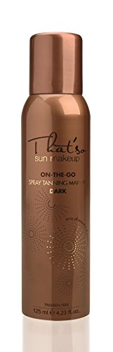That'so On The Go dunklen Make-up Spray 125ml - Best Self Tanning Lotionen