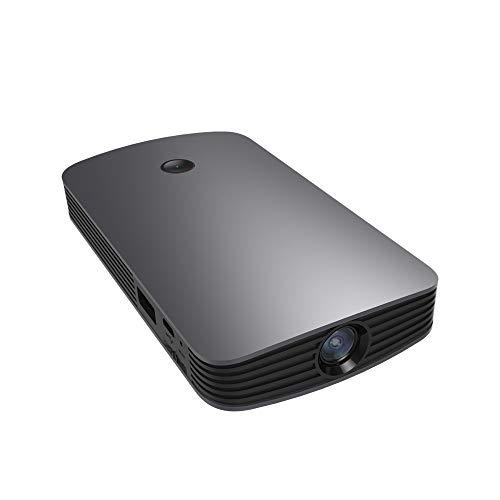 Projeatione Mini Beamer, Viele Ports die Einfach zu Bedienen Sind, Mit Integriertem Lautsprechersystem, Geeignet Für die Beobachtung Im Freien