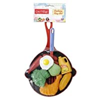 3 X Cosy Village Cooking Play Food Set