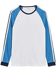 next Hombre Camiseta Manga Larga Raglán Estrecha