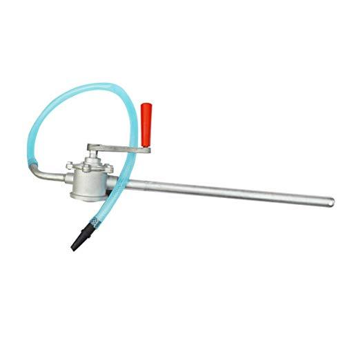 WEIHAN Handkurbel Aluminiumlegierung Ölpumpe Auto LKW Heizöl Benzin Diesel Transfer Handpumpe Saugwasser Chemische Flüssigkeitspumpe