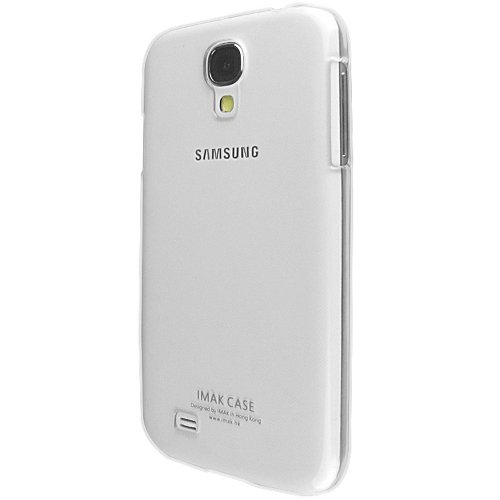 Heartly Imak Crystal Transparent Flip Thin Hard Bumper Back Case Cover For Samsung Galaxy S4 i9500