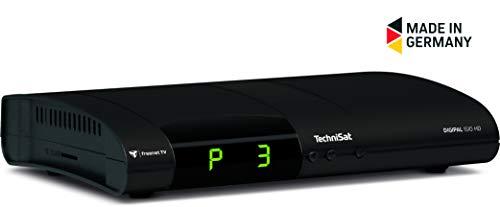 TechniSat DIGIPAL ISIO HD DVB-T2-Receiver mit PVR-Aufnahmefunktion, HDTV, kartenloses Irdeto-Zugangssystem für freenet TV, App-Steuerung, Internetfunktionalität, 12V