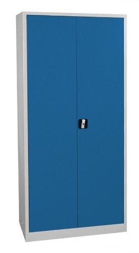 Aktenschrank blech - Flügeltürschrank Schrank blau Stahlblech