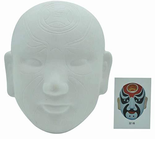 Aida Bz Chinesische Peking Oper DIY Maske, Party Maske Halloween Maske Kostümparty,A