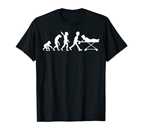 Sanitäter Sanitätsdienst Rettungsdienst Beruf Job Evolution T-Shirt