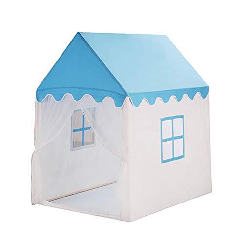 ZfgG Toddler Playground Kids Play Tent Indoor Maison de Jeux pour Enfants Clôture de Parc pour Enfants (Couleur : Bleu)