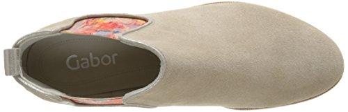 Gabor41-111-12 - Stivali classici alla caviglia Donna Bianco (Blanc Cassé (Silk))