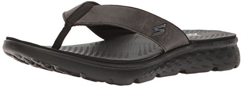 Skechers On the Go 400, Tongs Homme, Noir (Bbk), 45 EU