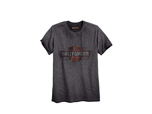 Harley-Davidson T-Shirt Logo Overprint , L