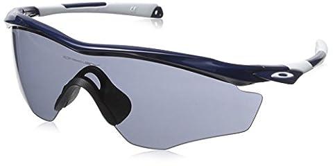 Oakley 9343 SUN, Lunettes de soleil, Homme, Couleur de la lentille Gris (Cadre de lunettes Bleu Marin Brillant), XL