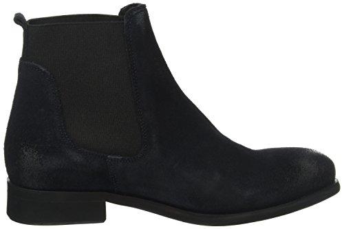 PIECES Psizi Suede Boot Navy Blazer, Stivali Chelsea Donna Blu (Navy Blazer)