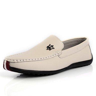 Chaussures d'hommes et de l'emploi de bureau/Trotteurs en cuir décontracté noir/bleu/marron/gris Black